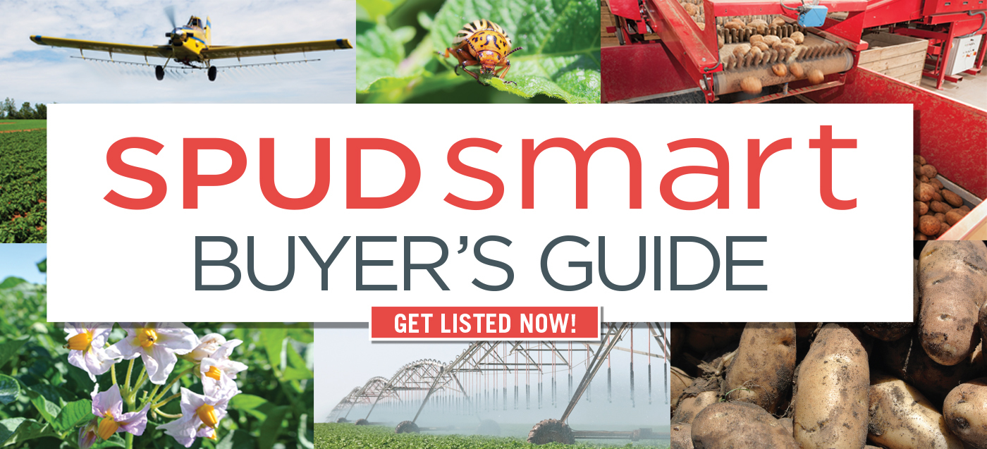 Get Listed in the Spud Smart Buyer's Guide