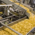 Potato processing plant