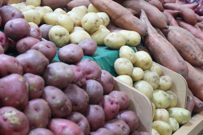 Grocery store potatoes