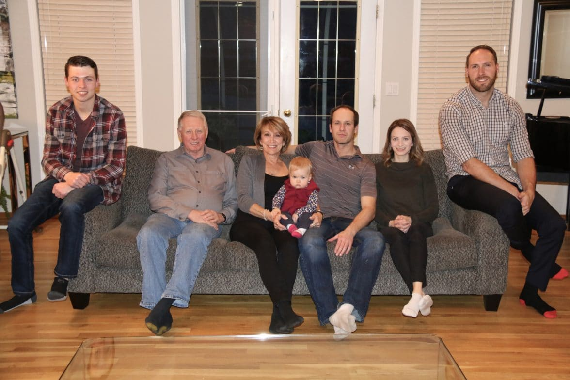 Davison family photo