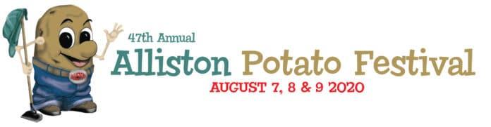 47th annual Alliston Potato Festival logo