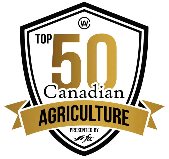 Top 50 in Canadian Agriculture
