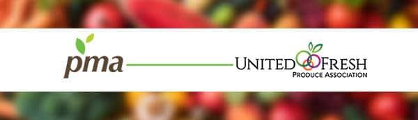 PMA and United Fresh logos