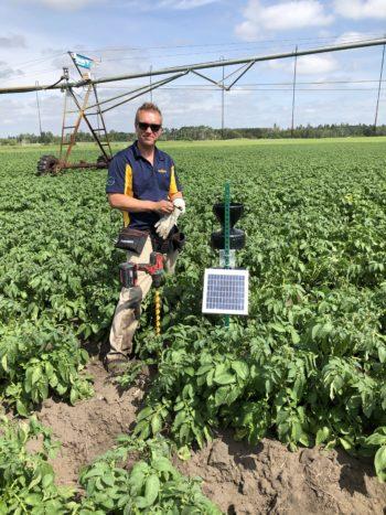 Simplot soil moisture probe